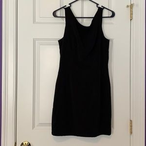 Forever 21 Black Dress with Zip Bow Back